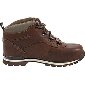 Timberland Splitrock 2 Hiker Shoes Junior Medium Brown Full Grain